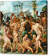The Triumphal Procession Of Bacchus Acrylic Print