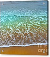 The True Beauty Of Water And Sun Acrylic Print