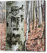 The True Love Tree Acrylic Print