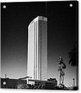 the trump luxury hotel condominium and timeshare Las Vegas Nevada USA Acrylic Print