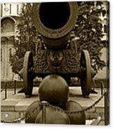 The Tsar Cannon Acrylic Print