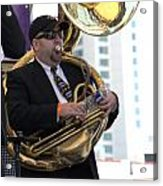 The Tuba Player Acrylic Print