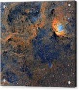 The Tulip Nebula - Beauty In Space Acrylic Print