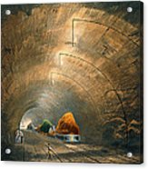 The Tunnel, From Coloured View Acrylic Print