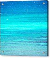 The Turquoise Sea Acrylic Print
