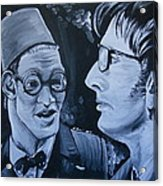 The Two Doctors Acrylic Print