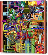 The Tzaddik Lives On Emunah 2 Acrylic Print