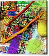 The Tzaddik Lives On Emunah 22b Acrylic Print
