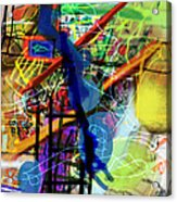 The Tzaddik Lives On Emunah 22d Acrylic Print