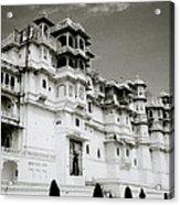 The Udaipur City Palace  Acrylic Print