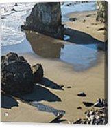 The Unexplored Beach Acrylic Print