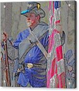 The Union Patriot Acrylic Print