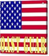 The United States Coast Guard Acrylic Print