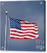 The United States Of America Acrylic Print by Benjamin Reed