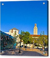 The University Of Texas Tower Acrylic Print