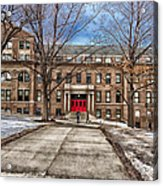 The University Of Wisconsin Education Building Acrylic Print