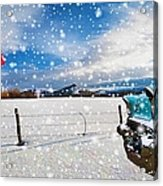 The Unwilling Winter Acrylic Print