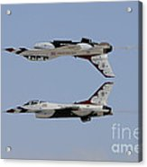 The U.s. Air Force Thunderbirds Acrylic Print