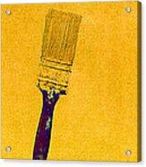 The Used Paintbrush Acrylic Print
