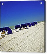 The Vacationers 2 Acrylic Print by Madeline Ellis