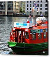The Vagen Harbour Ferry Acrylic Print