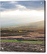 The Valleys In Wicklow Ireland Acrylic Print