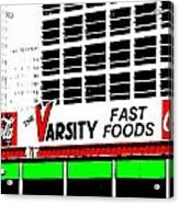 The Varsity Atlanta Pop Art Acrylic Print