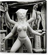 The Veiled Durga Acrylic Print