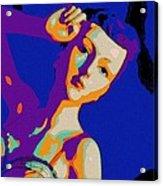The Velvet Dancer Acrylic Print
