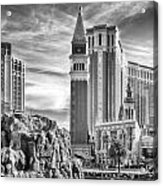 The Venetian Resort Hotel Casino Acrylic Print