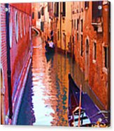 The Venetian Way Acrylic Print