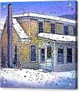 The Vermont Homestead Acrylic Print