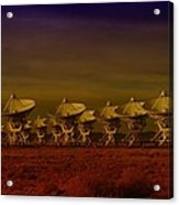 The Very Large Array In New Mexico Acrylic Print