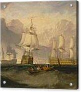 The Victory Returning From Trafalgar Acrylic Print
