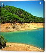 The View At Shasta Lake Acrylic Print