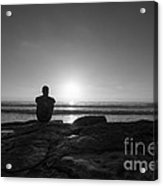 The View Bw Acrylic Print