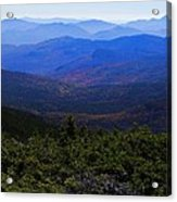 The View From Mt Washington Acrylic Print