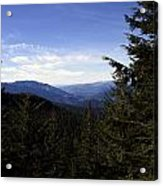 The View From Nf 7605 No 1 Acrylic Print