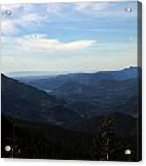 The View From Nf 7605 No 2 Acrylic Print