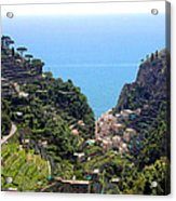 The View From Pontone Acrylic Print