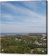 The View From The Top Of Currituck Beach Lighthouse  Acrylic Print