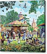 The Village Fayre  Acrylic Print
