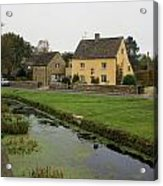 The Village Green Acrylic Print