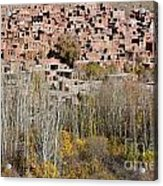 The Village Of Abyaneh In Iran Acrylic Print