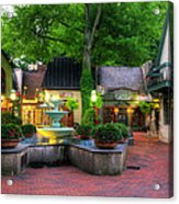 The Village Of Gatlinburg Acrylic Print by Greg and Chrystal Mimbs