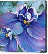 The Violet Acrylic Print