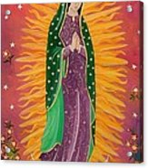 The Virgin Of Guadalupe Acrylic Print
