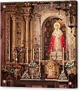 The Virgin Of Hope Acrylic Print