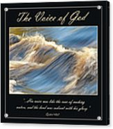 The Voice Of God Acrylic Print