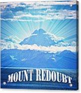 The Volcano Mt Redoubt Acrylic Print